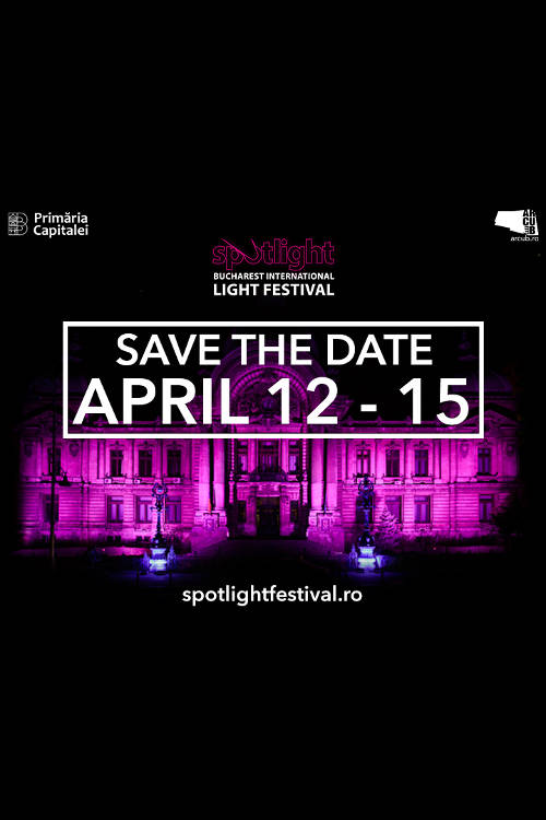 Spotlight – Bucharest International Light Festival la Palatul CEC