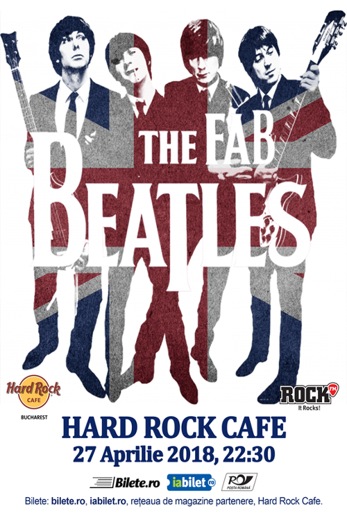 The Fab Beatles la Hard Rock Cafe