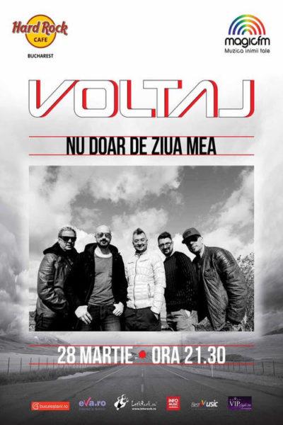 Poster eveniment Voltaj