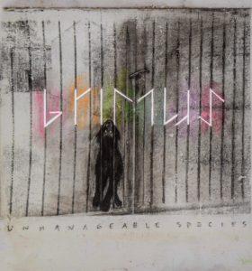 "Coperta albumului ""Unmanageable Species"" (Grimus)"
