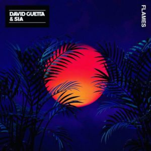 Coperta single David Guetta Sia Flames