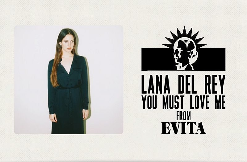 Single Lana Del Rey You Must Love Me