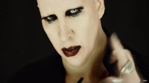 Videoclip Marilyn Manson Tattooed in Reverse