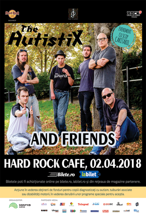 The AutistiX - concert caritabil la Hard Rock Cafe