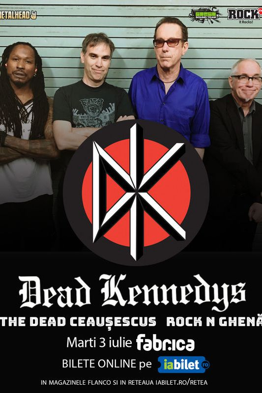 Dead Kennedys - SOLD OUT la Fabrica
