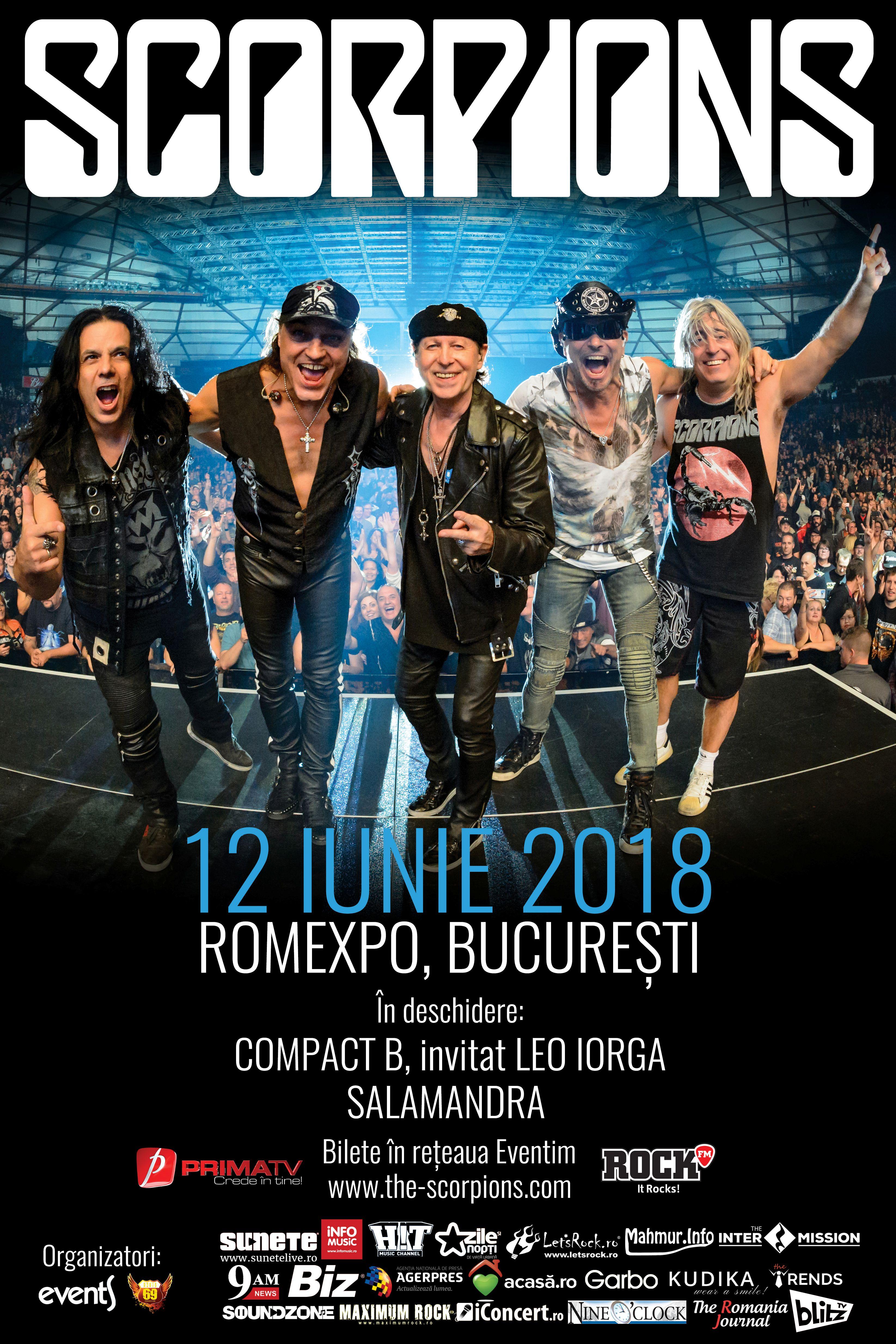 Scorpions la Romexpo