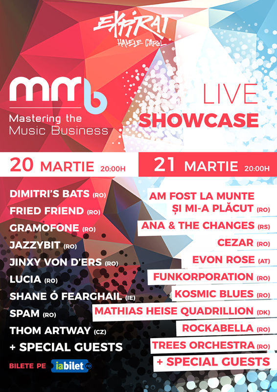 MMB Live Showcase la Expirat Club