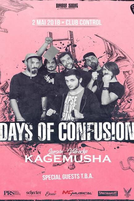 Days of Confusion la Club Control