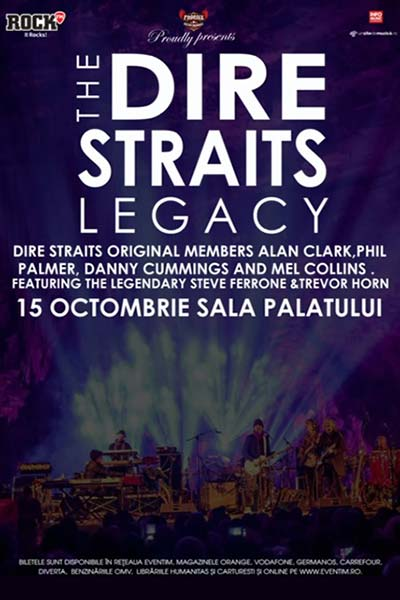 The Dire Straits Legacy la Sala Palatului