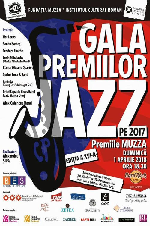 Gala Premiilor de Jazz la Hard Rock Cafe