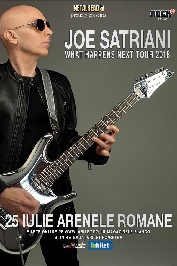 Joe Satriani la Arenele Romane