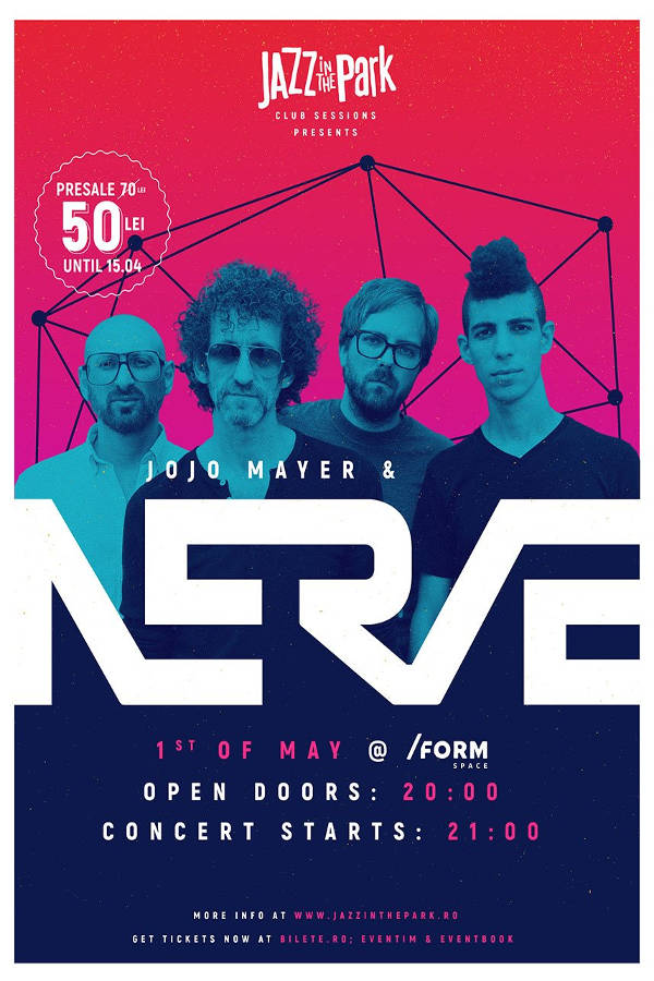 Jojo Mayer / Nerve la Form Space Club
