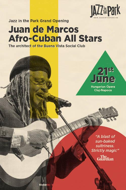Juan de Marcos & Afro-Cuban All Stars la Opera Maghiară (Cluj-Napoca)