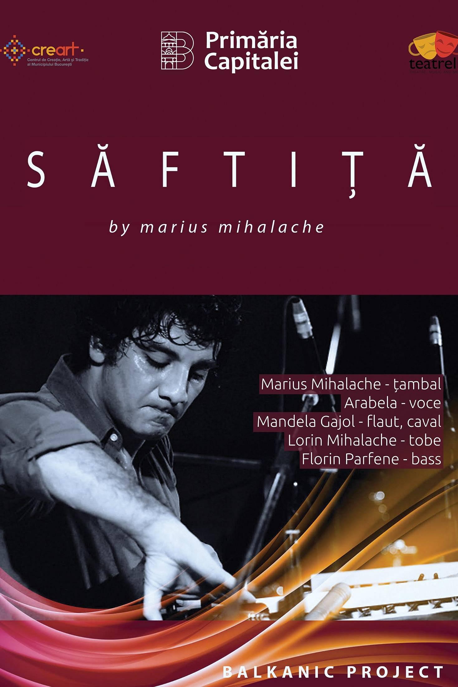Marius Mihalache la teatrelli - theatre, music & more
