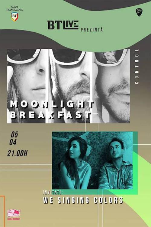BT Live: Moonlight Breakfast / We Singing Colors la Club Control
