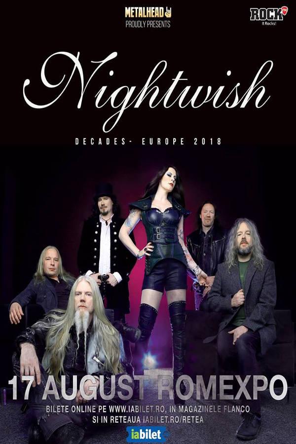 Nightwish - 20 de ani la Romexpo