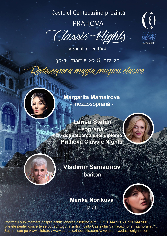 Prahova Classic Nights 2018 la Casino Sinaia