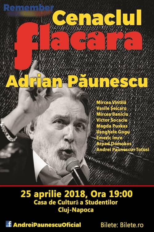 Remember Cenaclul Flacăra la Casa de Cultură a Studenților Cluj Napoca