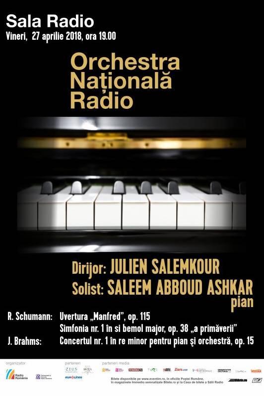 Saleem Abboud Ashkar - Orchestra Națională Radio la Sala Radio