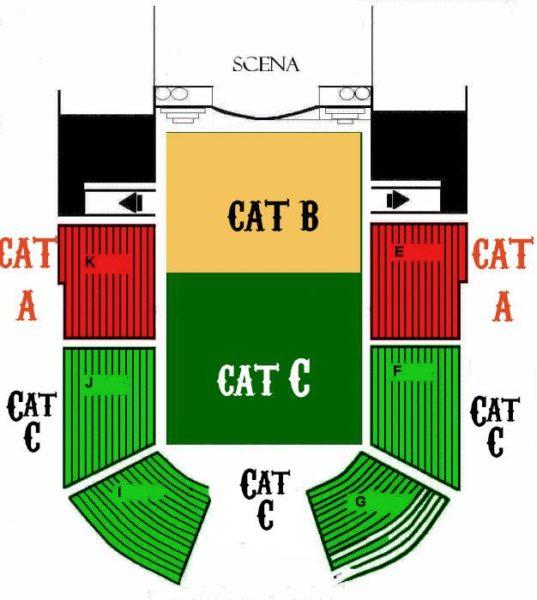 Delimitarea categoriilor de locuri la concertul Joe Satrinai de la Arenele Romane