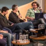 Discuții despre playlisturile radio la MMB cu George Zafiu (EuropaFM), Alexandru Anghel (Radio Guerrilla), Andrei Stroe (Virgin Radio), Dragoș Vulgaris (Digi FM) si Dan Fintescu