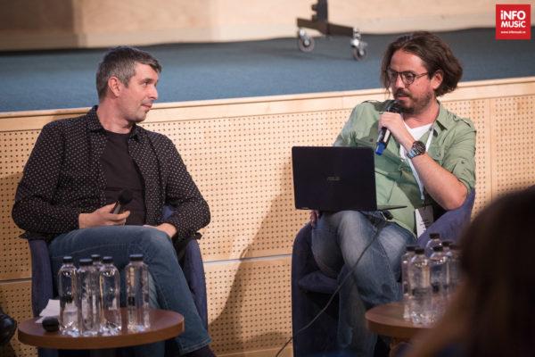 Discutii despre playlisturile radio la MMB cu George Zafiu (EuropaFM) și Dan Fințescu