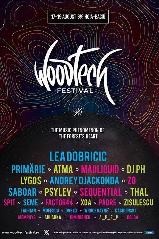 WoodTech Festival la Pădurea Hoia-Baciu (Cluj-Napoca)