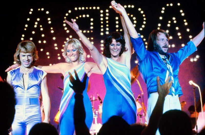 ABBA fotografie formatie