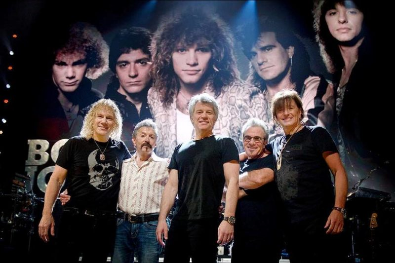 Bon Jovi (Rock And Roll Hall of Fame 2018)