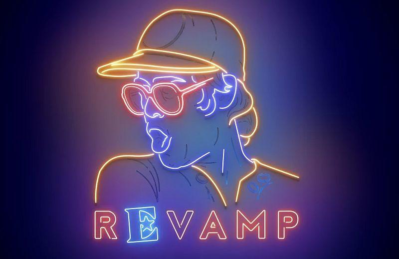 Coperta album tribut Elton John Revamp