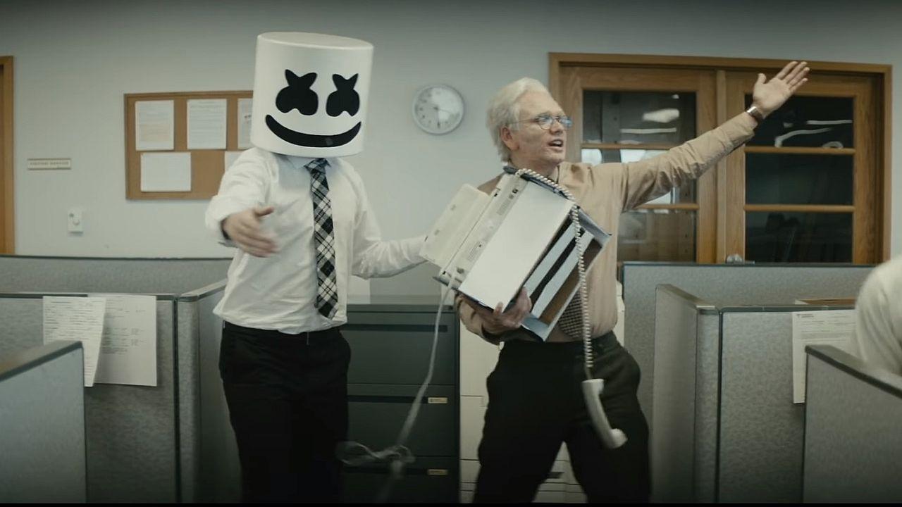 Videoclip Marshmello Logic Everyday