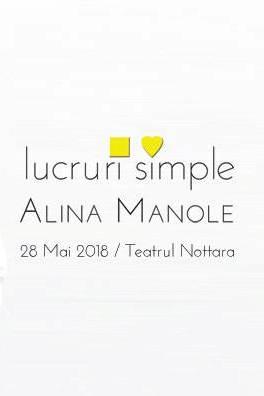 Alina Manole - lansare album la Teatrul Nottara