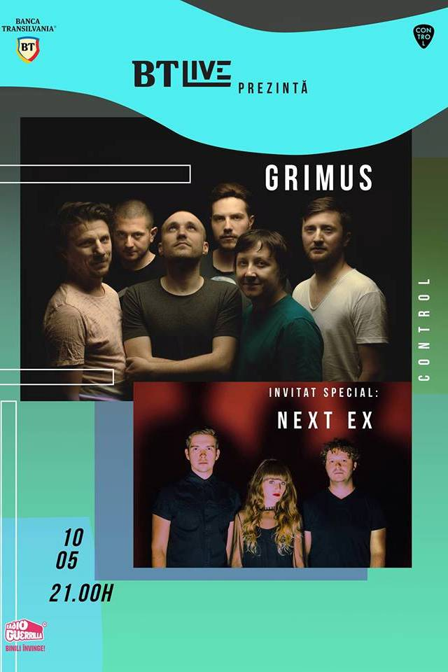 BT Live: Grimus / Next Ex la Club Control