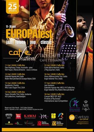 Cafe Festival - EUROPAfest 2018 la Hotel Ibis Gara de Nord
