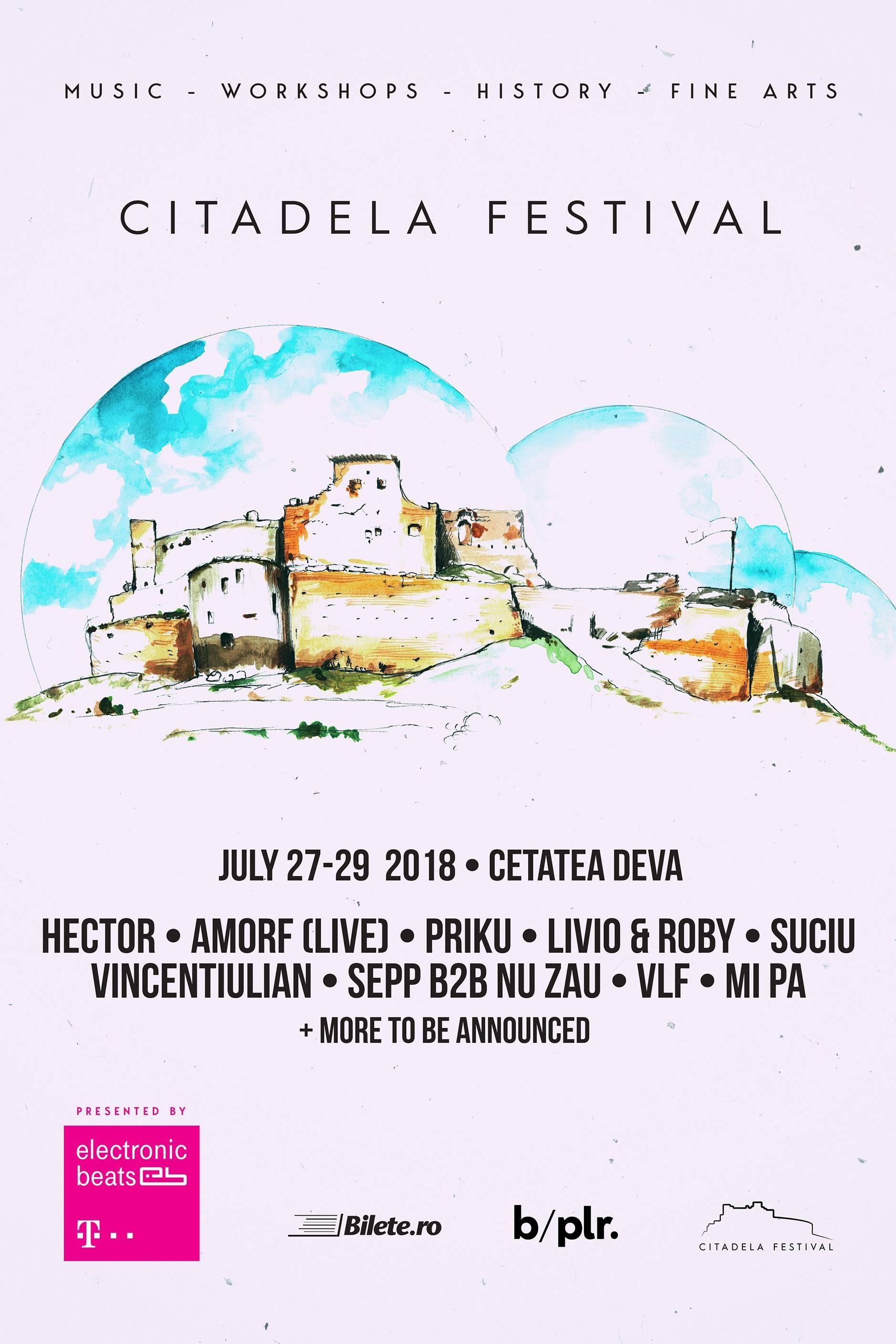 Citadela Festival 2018 la Cetatea Deva