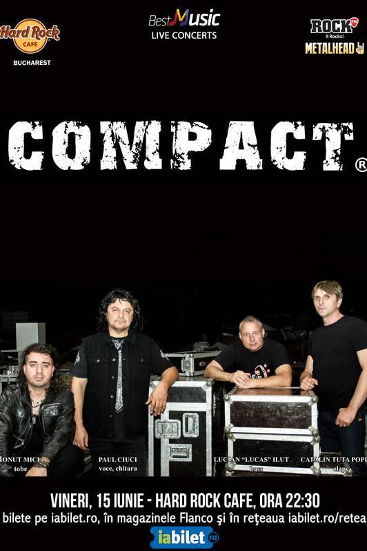 Compact - ANULAT la Hard Rock Cafe