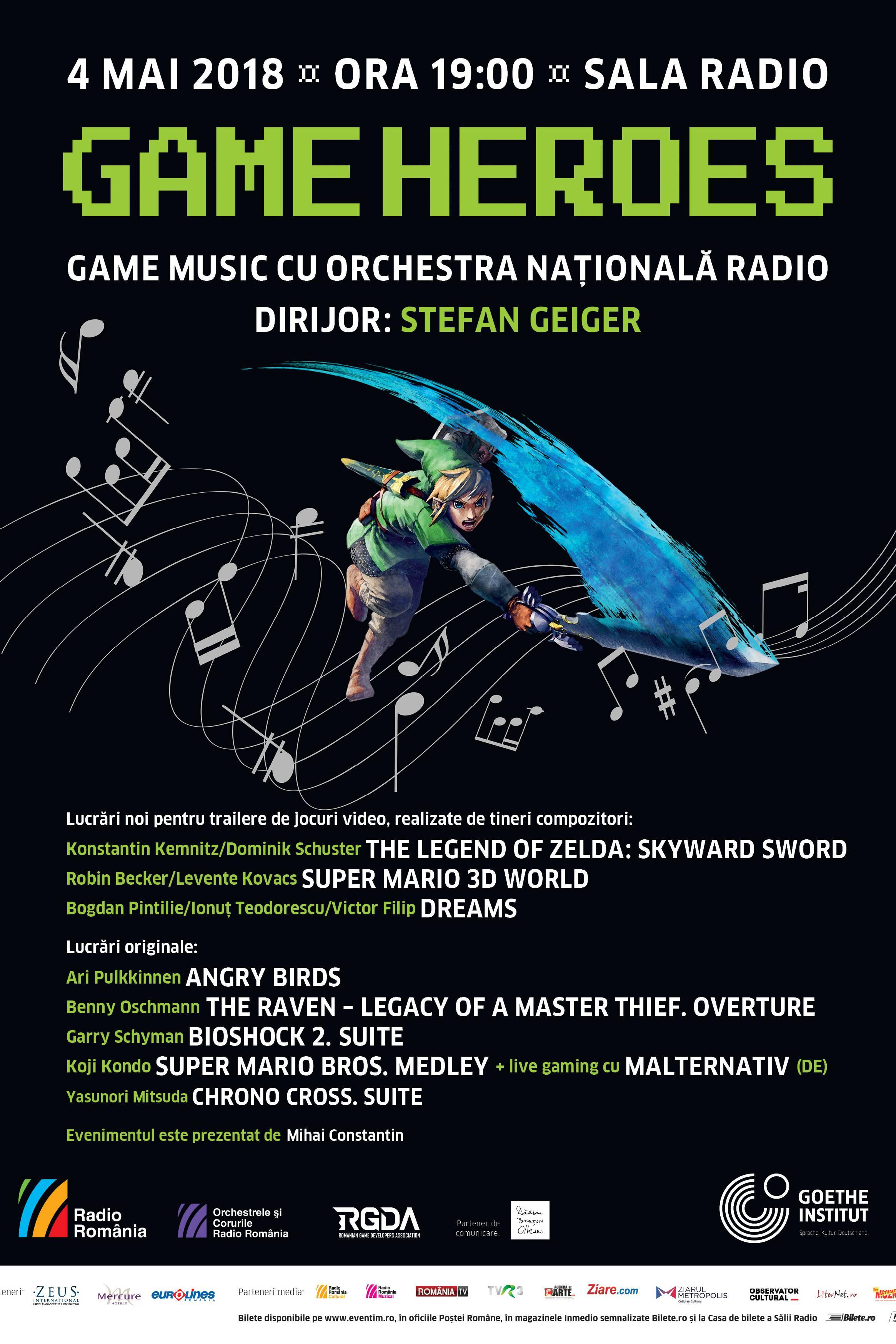 Game Heroes la Sala Radio