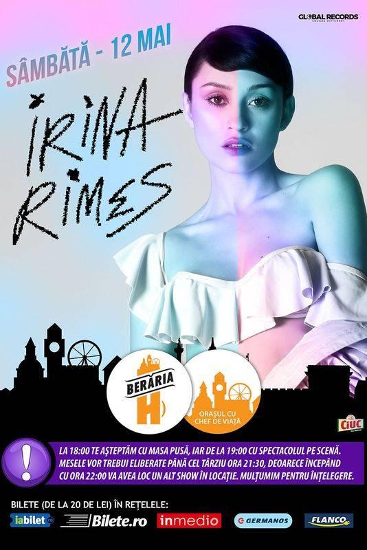 Irina Rimes la Berăria H