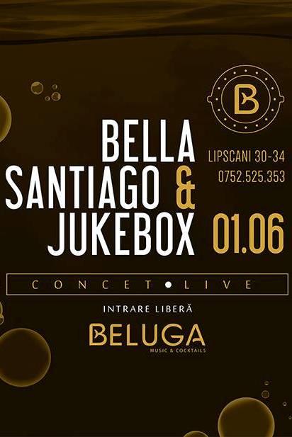 Jukebox & Bella Santiago la Beluga Music & Cocktails