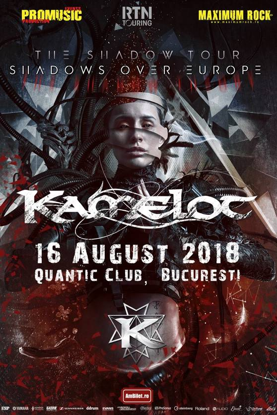 Kamelot - lansare album la Quantic Club