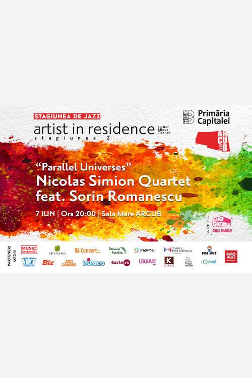 Nicolas Simion Quartet feat. Sorin Romanescu la ARCUB