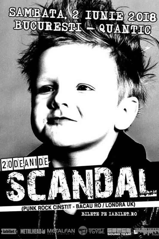 Scandal - concert aniversar la Quantic Club