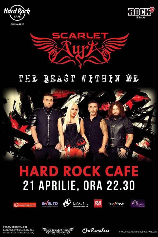Scarlet Aura la Hard Rock Cafe
