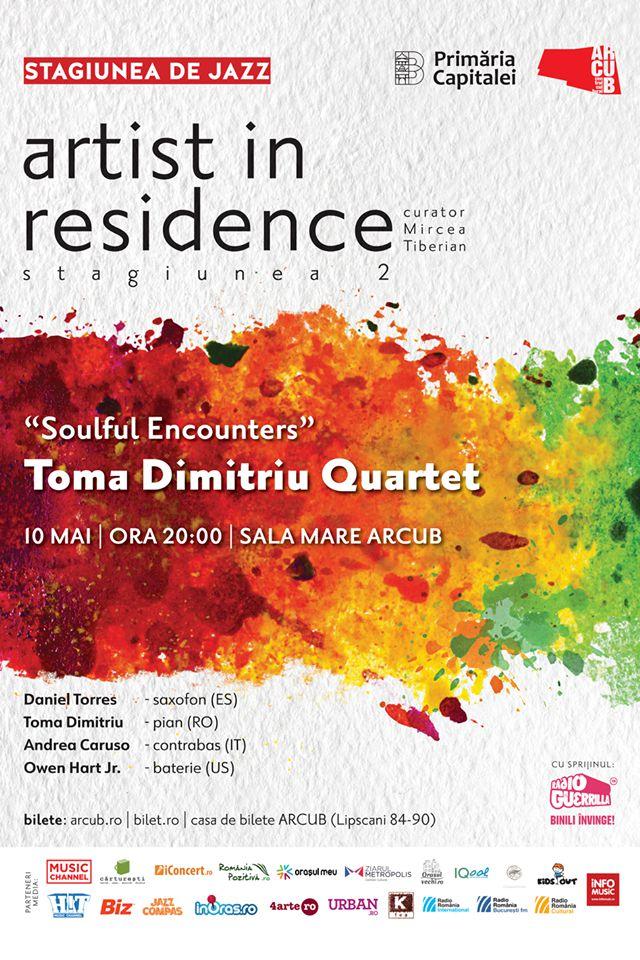 Toma Dimitriu Quartet la ARCUB
