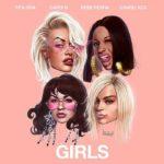 Coperta single Cardi B Rita Ora Bebe Rexha Charli XCX Girls