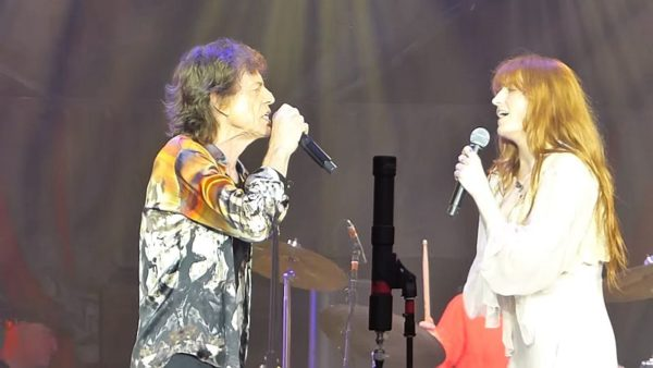 The Rolling Stones Florence Welch Wild Horses London Stadium concert 2018