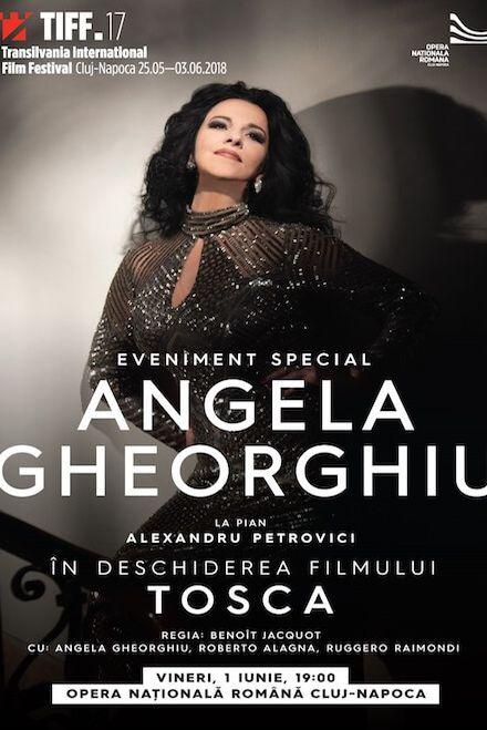 Angela Gheorghiu la Opera Națională Română Cluj-Napoca