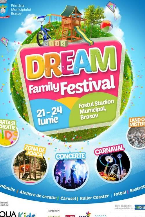 Dream Family Festival la Stadionul Municipal Brașov