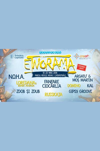 Poster eveniment Etnorama 2018