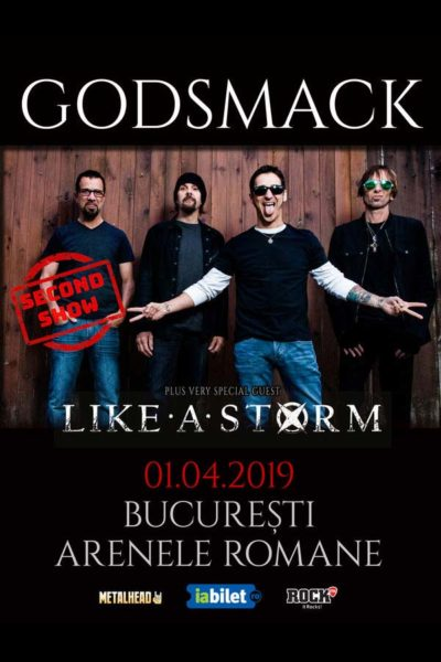 Poster eveniment Godsmack